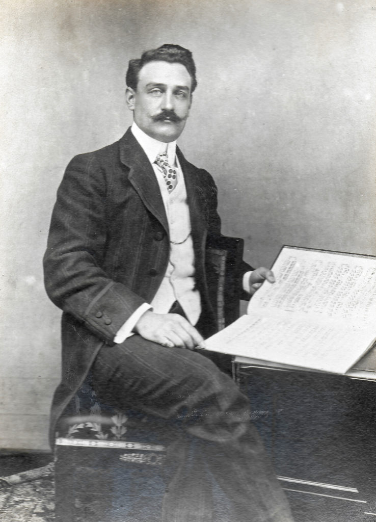 Raymond Charpentier en 1910